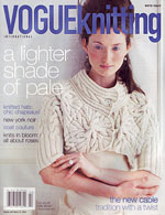 Vogue Knitting Magazine Winter 2006-2007