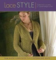 Book Cover Lace Style Interweave