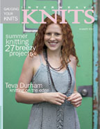 Cover Interweave Knits Magazine Summer 2005